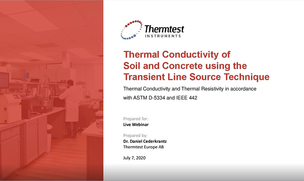 TLS webinar on soil and concrete